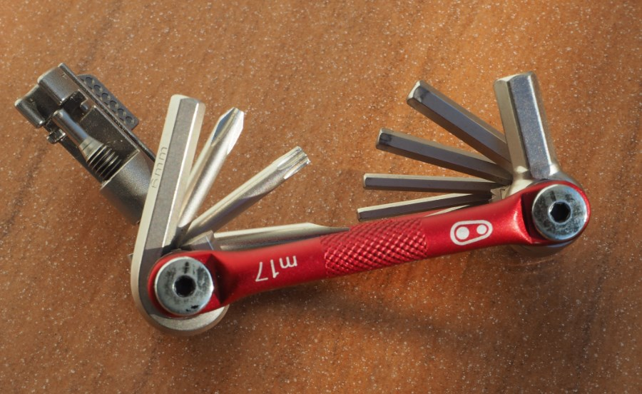 Test Multitool Crank Brothers M17 4