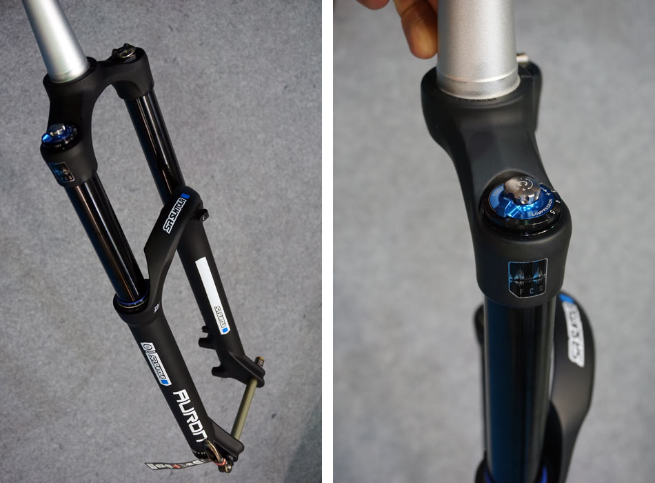 2018 SR Suntour Auron trail suspension fork02