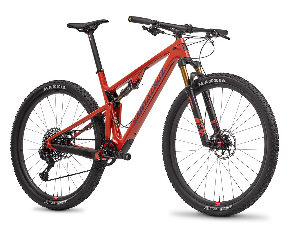 Santa Cruz Blur XC orange