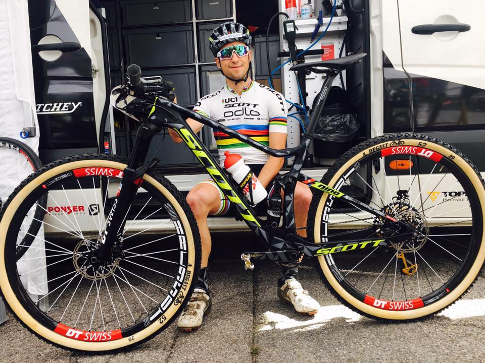 Scott Racing new bike Nino Schurter 2017