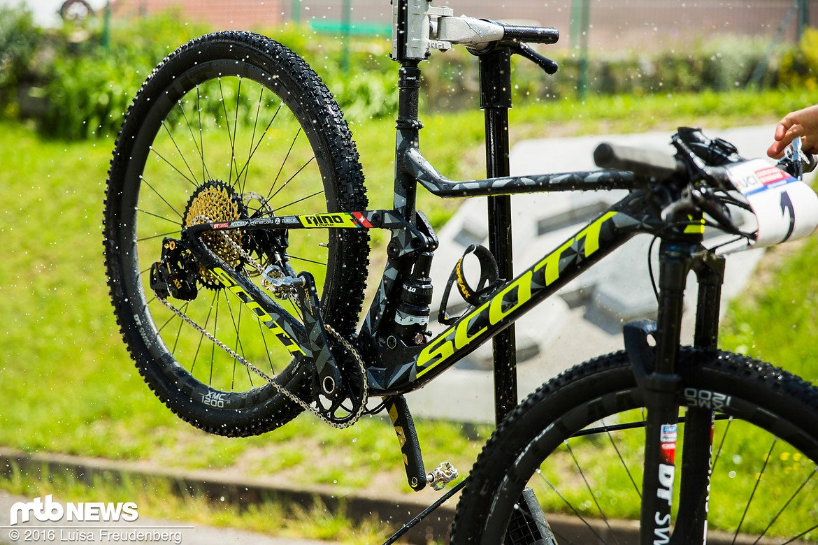 Scott Spark Racing new bike Nino Schurter 2017