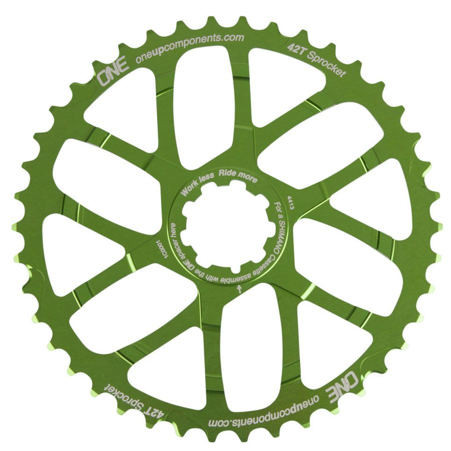 OneUp-Components-42T-Sprocket-green-front
